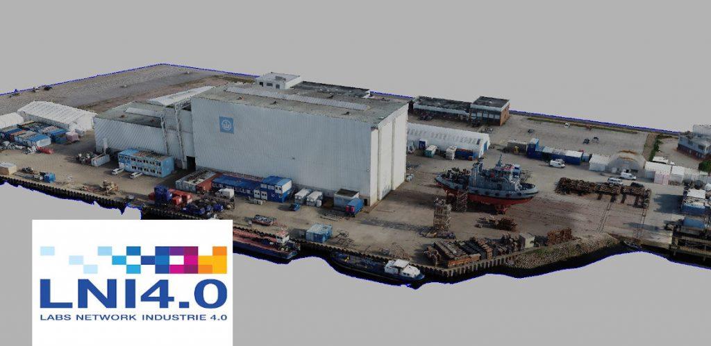 Port planning via 3D visualization